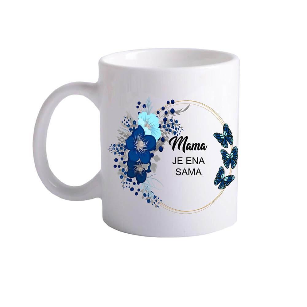 mama_je_ena_sama, skodelica_mama, darilo_za_mamo, materinski_dan, rerum, darilo, unikat, tisk_na_skodelico