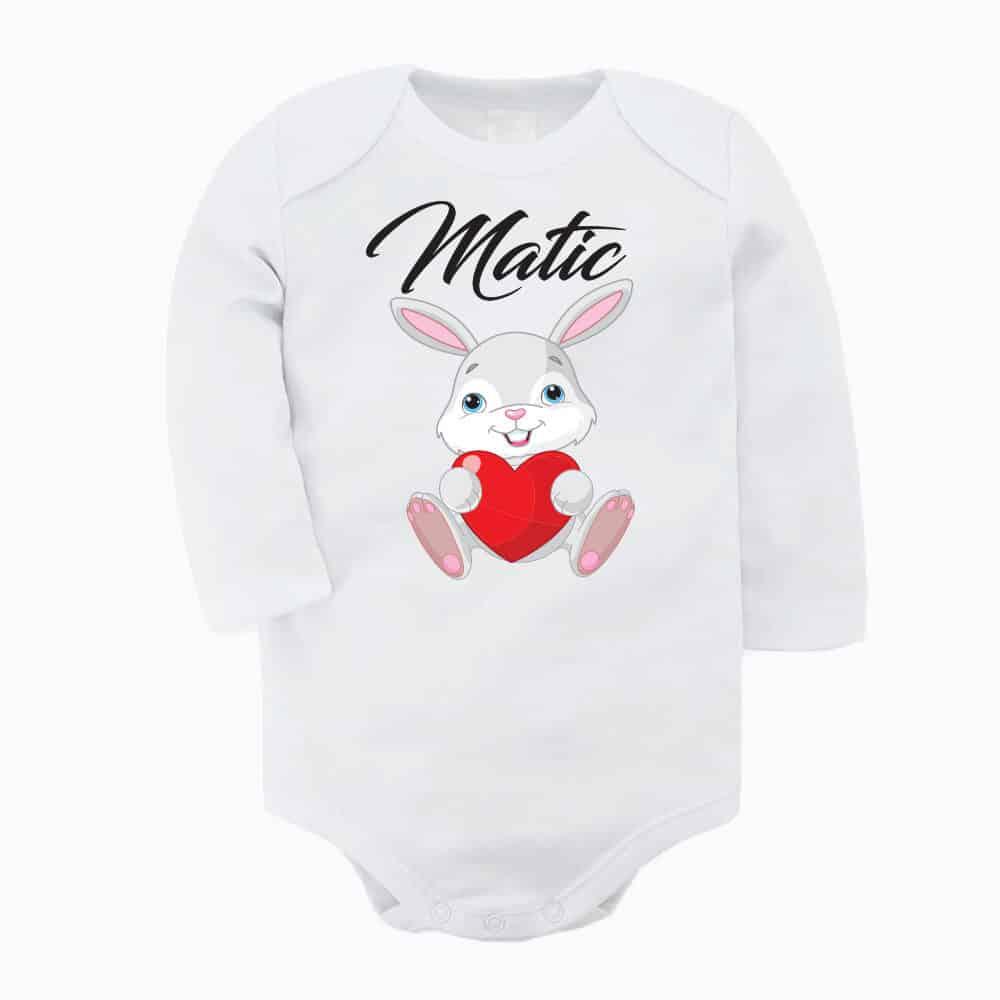 zajcek, bodi, darilo, unikat, velika_noc, banny, harst, dojenček, darilo za dojenčka
